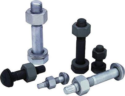 High tensile hex head bolt Din931,933